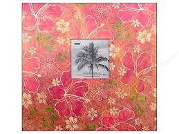 pioneer scrapbook album pioneer scrapbook album 12 x 12 in tropical frame hibiscus