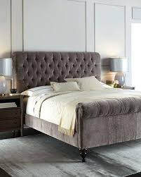 skyline furniture velvet king tufted wingback bed light gray velvet tufted king bed velvet tufted bed gray category b e d r o o m