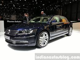 volkswagen phaeton next generation vw phaeton will have a full electric version
