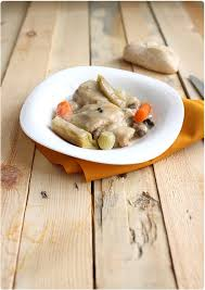 cuisiner une blanquette de veau blanquette de veau à l ancienne chefnini