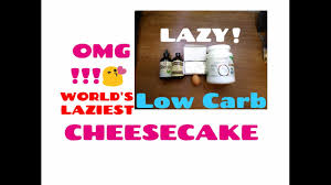 how to make lazy cheesecake low carb ketogenic dessert recipe