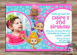 bubble guppies birthday invitations kawaiitheo com