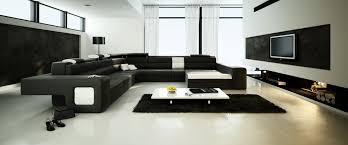 Living Room Black Sofa Spacious Living Room With Big Black Sofa 3d Model Max