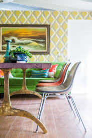 Yellow Dining Room Table Rooms Viewer Hgtv