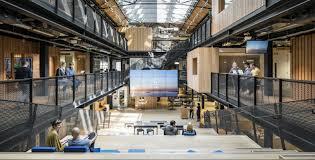 Google Hq Dublin Airbnb Dublin International Headquarters Opens Archpaper Com