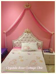 Princes Bed Www Crystalsrosecottagechic Com Website Design By