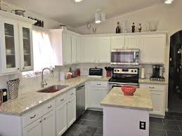 White Thermofoil Kitchen Cabinets by Everything You Need To Know About Cabinet Refacing Granite