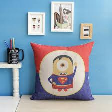 large sofa pillows superman cartoons large sofa pillows back cushions pillow