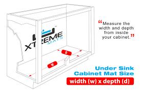 Under Kitchen Sink Cabinet Xtreme Mats Under Sink Kitchen Drip Tray U0026 Reviews Wayfair