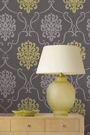 Contemporary Wallpaper A Contemporary Twist On A Classic A Mod Damask Design Wallpaper
