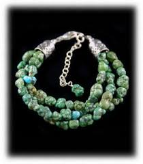 gemstone bead bracelet images Turquoise bead bracelet jpg