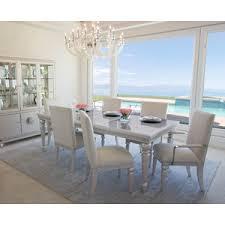 Michael Amini Dining Room Set Aico Furniture Glimmering Heights Dining Set By Michael Amini