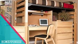 Desk With Bed Must Look 70 Stylish College Loft Bed With Desk With It U0027s