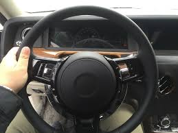 rolls royce steering wheel 2018 rolls royce phantom interior spied for the first time