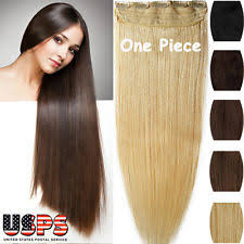 one clip in hair extensions one remy hair extensions ebay