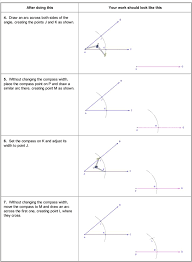 Angle Bisectors Worksheet Congruent Segments Midpoints And Bisectors Ck 12 Foundation