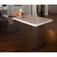 lifetime folding tables 6 lifetime adjustable leg table 4428 white 4 fold in half folding