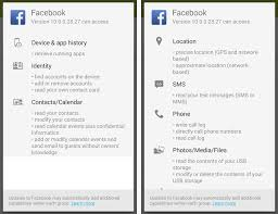 fb app android how to use on android without all the invasive permissions