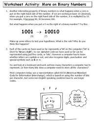 lesson 1 binary numbers u2013 computing studies