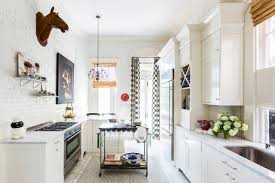 horse kitchen curtains so crazy it works a very bold update of a grand victorian wsj