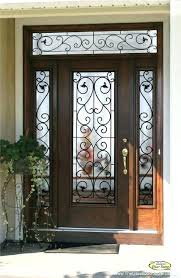 Frosted Glass Exterior Doors Wonderful Exterior Doors With Frosted Glass Photos Ideas House