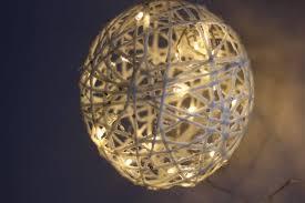 accessories wire balls garden outdoor lighted unique