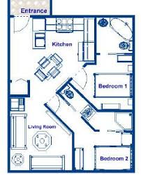 Small House Plans 700 Sq Ft Tiny House Single Floor Plans 2 Bedrooms Apartment Floor Plans