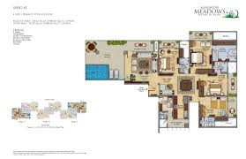 mahagun meadows in sector 150 noida project overview unit 4 bhk 3400 sq ft apartment