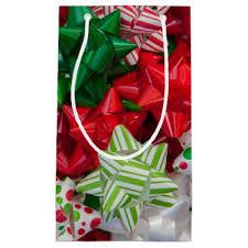 bags of christmas bows christmas bows small gift bag holidays diy custom design cyo