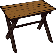 Small Folding Wooden Table Free Vector Graphic Table Wooden Small Collapsible Free