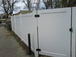 6 u2032 vinyl fence andrew thomas contractors denver co