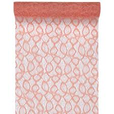 cheap coral table runners coral lace table runner easy florist supplies