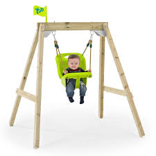 tp acorn growable swing frame with early fun seat
