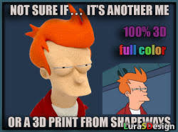 Not Sure Fry Meme - why not zoidberg meme 3d models thingiverse