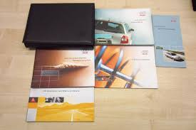 audi a4 avant b6 2001 2004 owners manual handbook u0026 4 stamp
