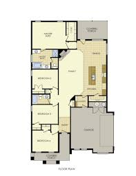 Side Garage Floor Plans Liliana Home Plan By Betenbough Homes In Lone Star Trails