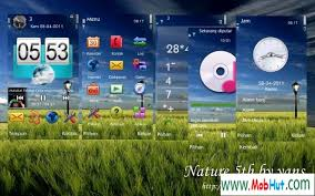 themes of java download nature 5th theme java mobile themes for mobile cell phone