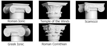 ornamental capitals for tapered permacast columns
