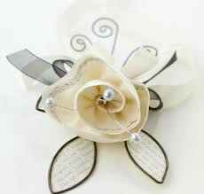 how to make corsages and boutonnieres cynthia shaffer fabric wire paper prom corsage and