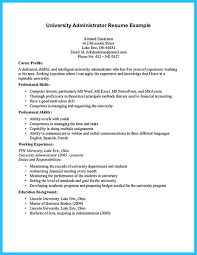Resume Sample Unix Administrator by Attract Your Employer With Defined Administrator Resume