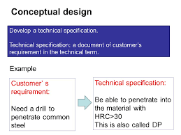 technical specification template example eliolera com