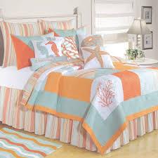 blue and orange bedding bedroom furniture c f enterprises quilts clearance blue