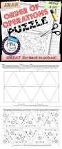 try this free order of operations puzzle that is great for back to