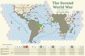 World Map Before Ww1 by The Second World War Oss2164 99 95 One Small Step Cart
