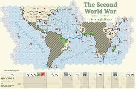 World War One Map by The Second World War Oss2164 99 95 One Small Step Cart