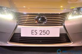 lexus es250 youtube launch all new 6th generation 2013 lexus es starting at rm259