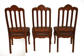 French Provincial Dining Room Chairs 6 Chair Dining Room Set