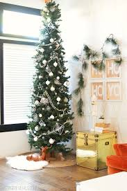 White Christmas Tree Decorated Its A White White Diy Christmas U2022 Vintage Revivals