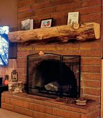 wood fireplace mantels log mantel antique rustic wood