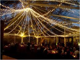 outdoor patio string lighting ideas backyard lighting ideas for a party a canopy of string lights in
